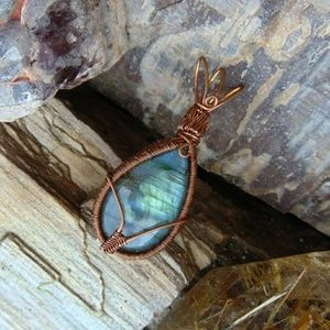 Labradorite Goddess Gypsy Gemstone Jewelry Boho